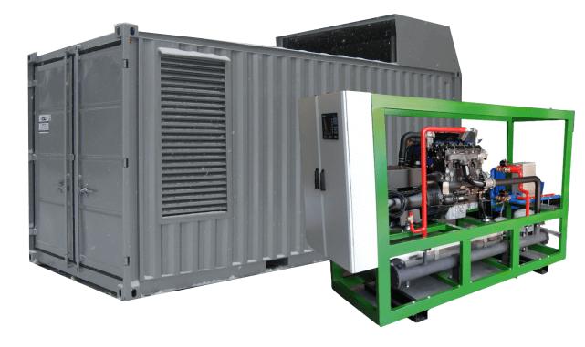 Kogeneracja agregaty kogeneracyjne agregat gaz eps system biogazowy
