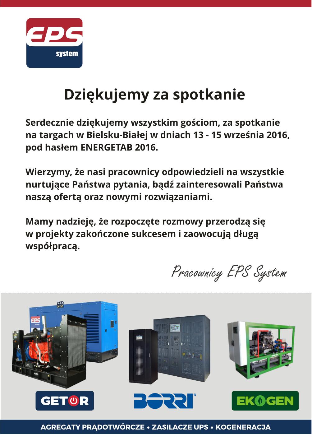 energetab 2016 targi eps system